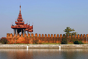 Mandalay_Fort_Wall